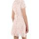 Lemonade Pink Italian Lace Dress