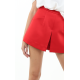 Red A-Line Shorts