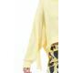 Yellow Lacey Sweatshirt